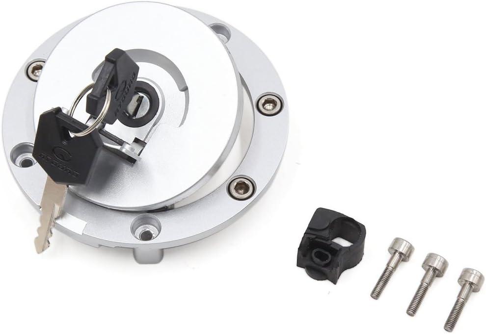 Sourcingmap/® metallo color argento moto olio motore di blocco tappo del serbatoio