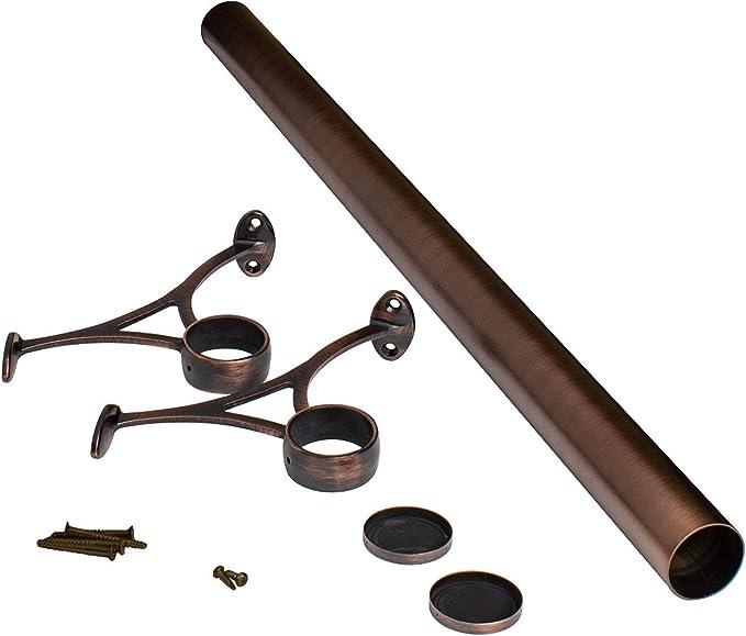 Kit de riel de pie para barra de agua salada - Herramientas y tubos de montaje completo bajo encimera: Amazon.es: Juguetes y juegos