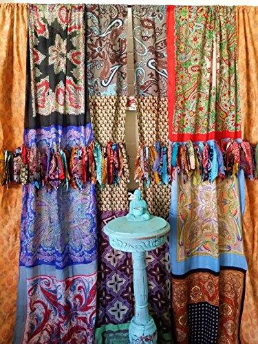Amazon.com: Boho Curtains Hippie Drapes panels Hippy Boho Gypsy ...