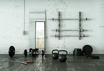 Amazon Com Yeele 10x8ft Gym Backdrop For Photography Gymnasium