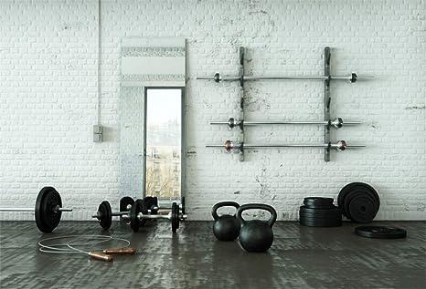 Amazon com : Yeele 10x8ft Gym Backdrop for Photography