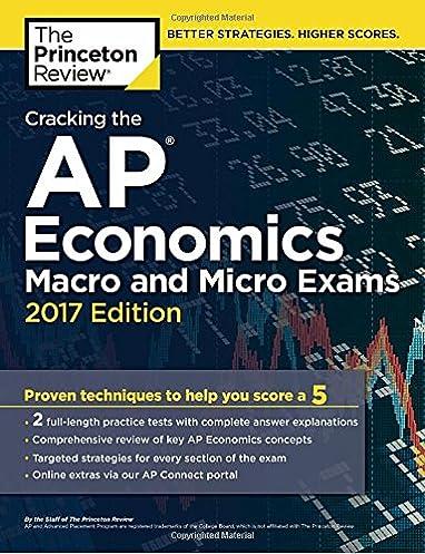 amazon com cracking the ap economics macro micro exams 2017 rh amazon com AP Psychology Exam College Board AP Macro Exam