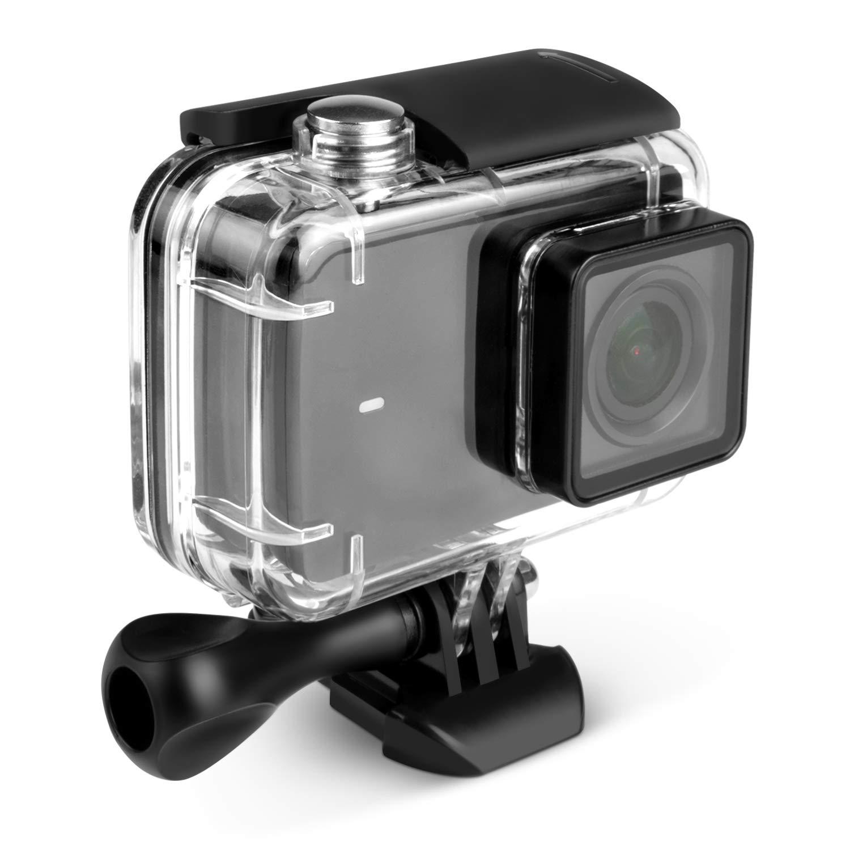 Kupton Case for Xiaomi 4K/ Yi 4K+/Yi Lite/YI Discovery 4K Diving Protective Housing Waterproof Case 40m for Xiaoyi 4K Xiaomi II/Yi Lite Action Camera with Bracket by Kupton