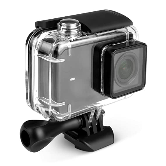 Kupton Case for Xiaomi 4K/ Yi 4K+/Yi Lite/YI Discovery 4K Diving Protective Housing Waterproof Case 40m for Xiaoyi 4K Xiaomi II/Yi Lite Action Camera ...