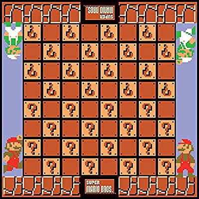USAOPOLY Super Mario Bros Checkers & Tic-Tac-Toe Collector's Edition Board Game: Toys & Games