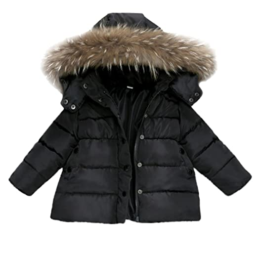 11e0c5e62 Amazon.com  Fullfun 1-3T Toddler Baby Winter Warm Coat Outerwear ...