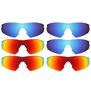 c510ba9f185 Image Unavailable. Image not available for. Color  Revant Replacement Lenses  for Oakley M2 ...