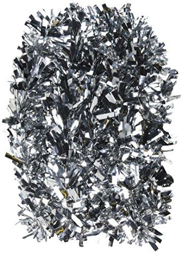 Beistle 50281-S 6-Ply Flame Resistant Silver Metallic Festooning Garland, 4