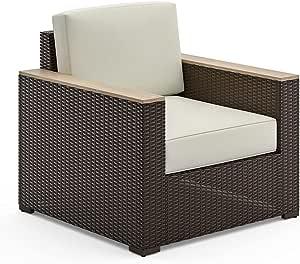 Homestyles 6800-10 Arm Chair, 1 Seat, Beige