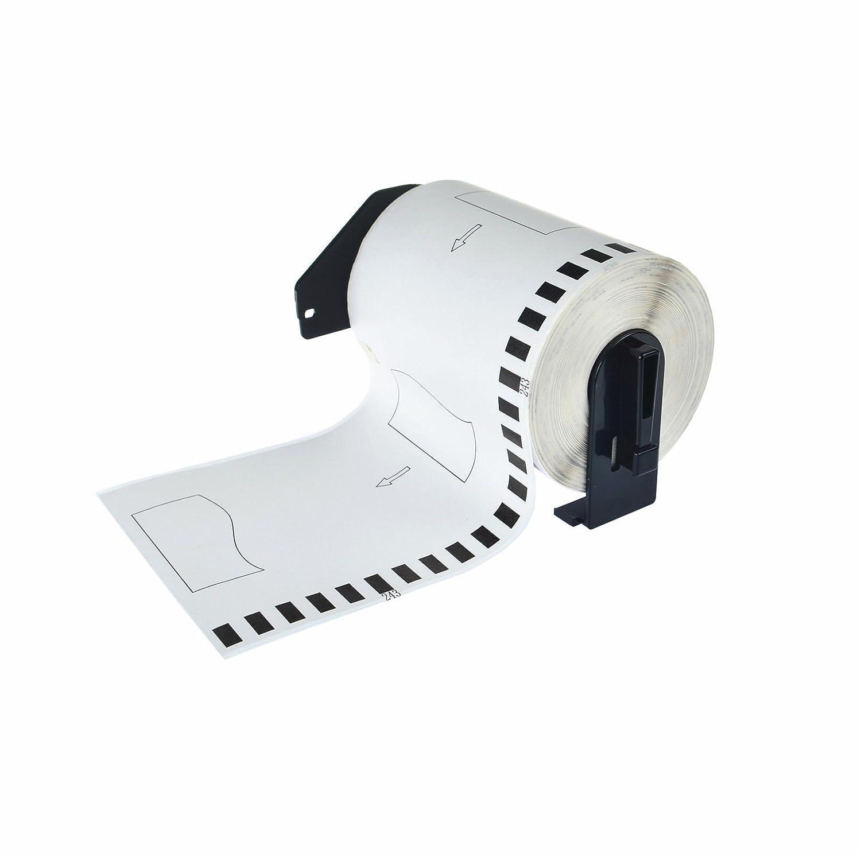 4 rolls Compatible DK2243 DK-2243 Continuous Paper Labels NO Cartridge