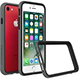 iPhone 8 Case [Also fits iPhone 7] - RhinoShield [CrashGuard] Bumper [11 Ft Drop Tested] No Bulk [ShockProof Technology] Thin Lightweight Protection - Slim Rugged Cover - [Dark Gray]