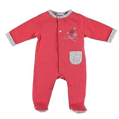 326a9aca0a4b1 Noukie s Noukies Z888135 Pyjama grenouillère en Jersey Double Face Bébé  Fille  Amazon.fr  Vêtements et accessoires