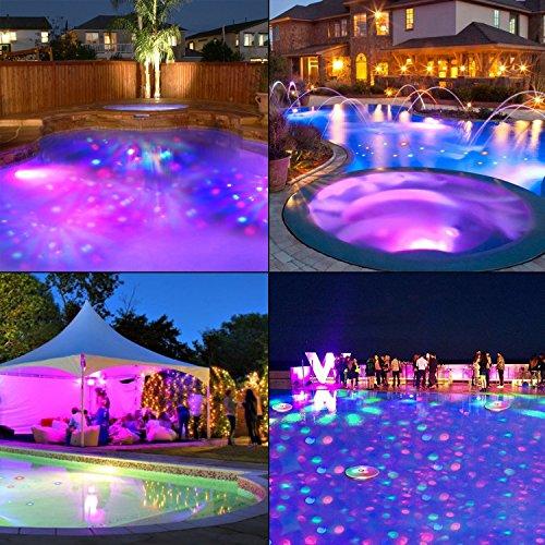 Waterproof Swimming Pool lights, Baby Bath Lights for the Tub(7 ...