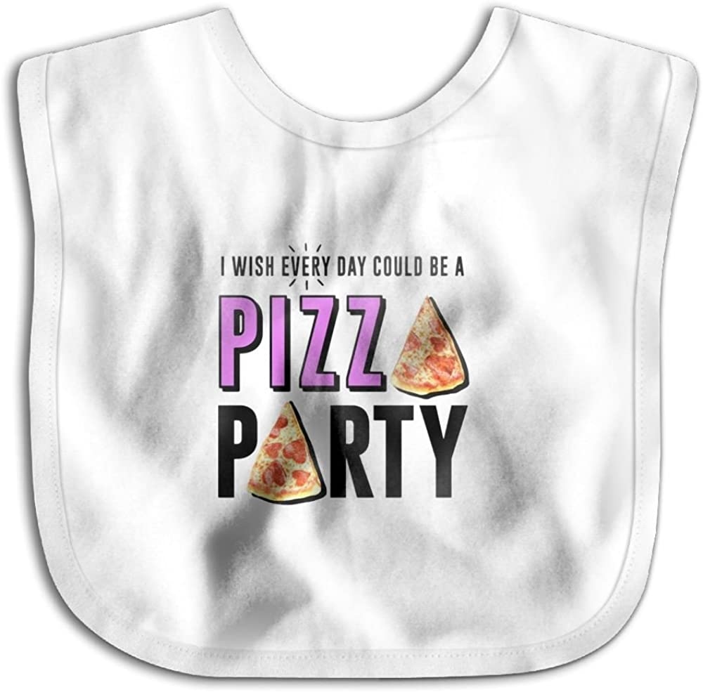 Marima Pizza Party Personalized Scarf Bib Feeding /& Teething Fancy Baby Bibs and Burp Cloth Polyester Cotton