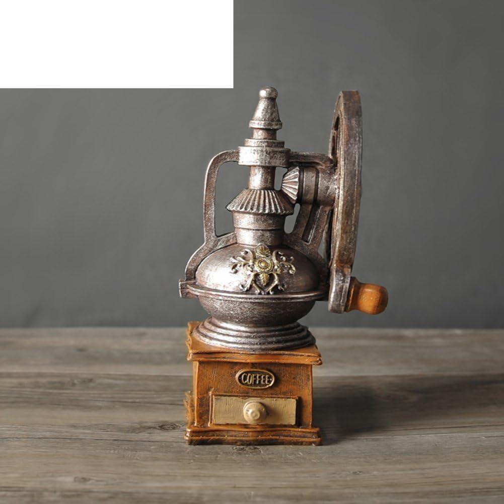 PAOSOSO Europeo Adornos Vintage Cafetera/Decoración De La Barra De La Tienda/Modelo De Gramófono Retro del-A: Amazon.es: Hogar