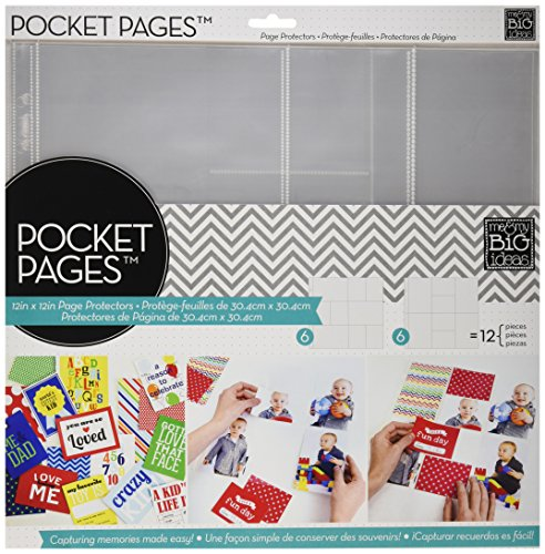 ideas Pocket Pages Layout Number