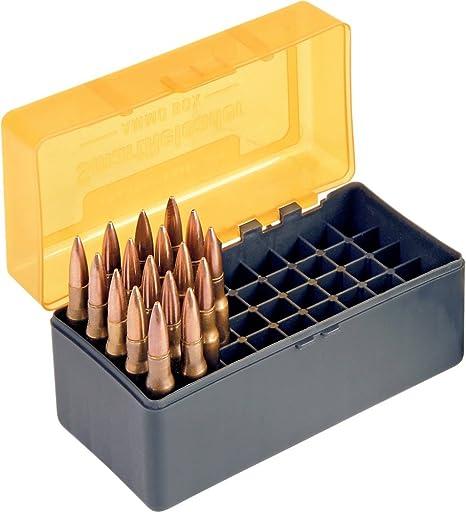 SMARTRELOADER Caja de Municion nr 7, 50 municiones .222 Remington: Amazon.es: Deportes y aire libre