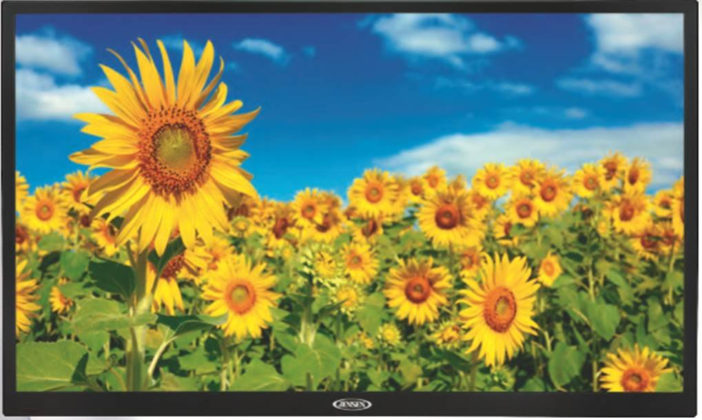 Jensen JE2415 AC Powered 24'' LED TV, Integrated HDTV ATSC tuner and HDTV ready capabilities, White LED Illumination, Wide 16:9 LCD panel 16.7 Million Colors, HD Ready 1080p 720p 480p, Replaced JE2414 by Jensen