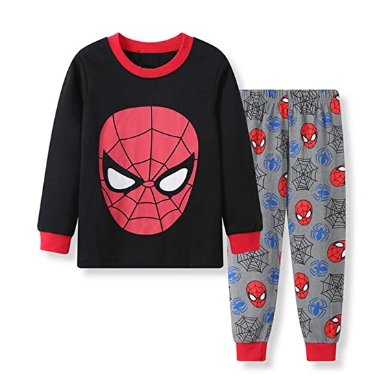 Pijamas Para Niños Conjunto De Pijamas De Algodón Pjs Ropa De ...