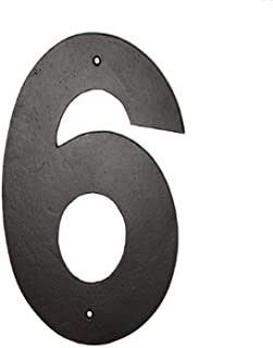 product image for Montague Metal Products Helvetica Font Individual House Number, 6, 6-Inch