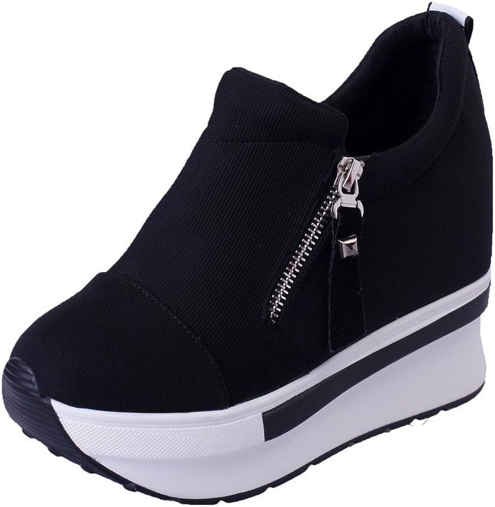 Women's Girls Fashion Sneakers Thick