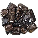 "Hypnotic Gems Materials: 1 Piece of Top Grade Hand Polished Garnet from India - Avg 1"" to 1.25"" - Bulk Polished Natural Gemstones for Wicca, Reiki, and Energy Crystal Healing"