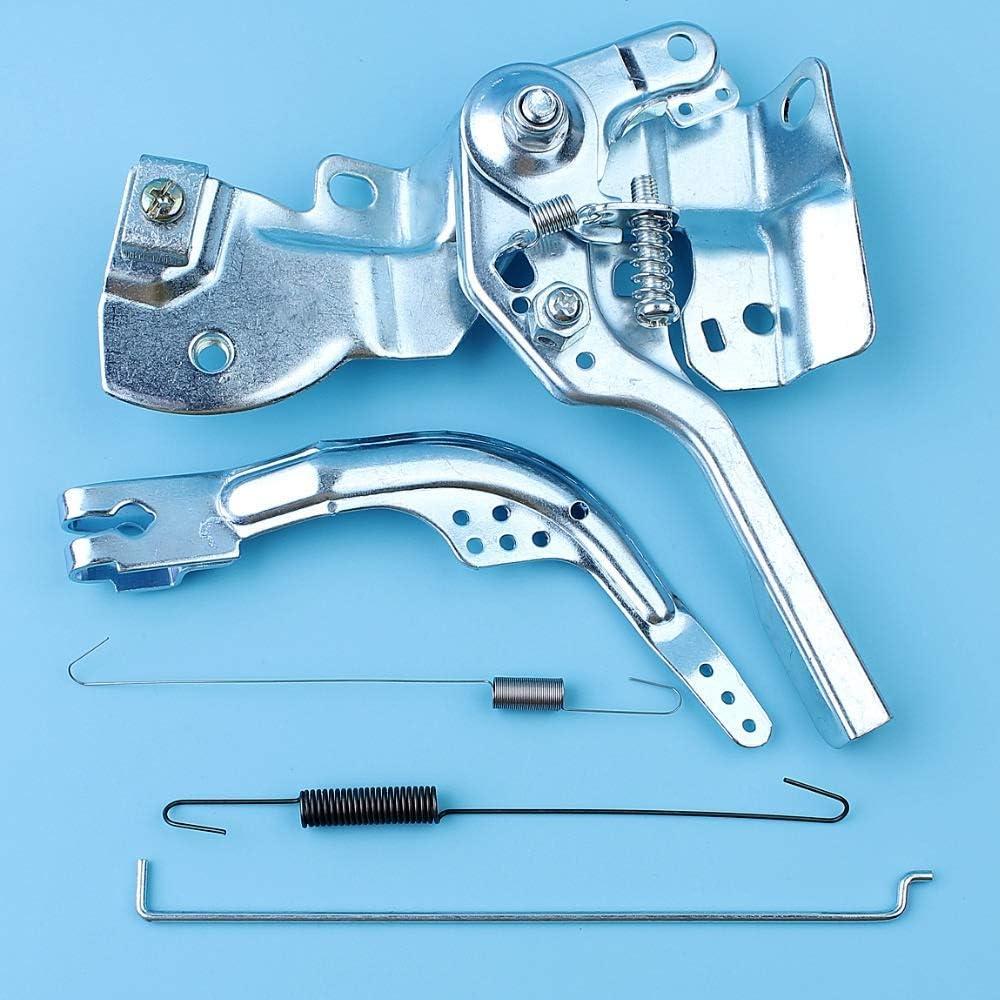 HaoYueDa Kit de Montaje de Varilla de Resorte de Brazo de Palanca de Control del Acelerador Compatible con Honda GX160 GX200 5.5HP 6.5HP 168F 170F Motor Trimmer Desbrozadora Cortadora