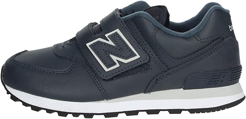 Fusión Armada afijo  New Balance 574 Trainers Child Blue - UK:10 Kid - Low top Trainers ...