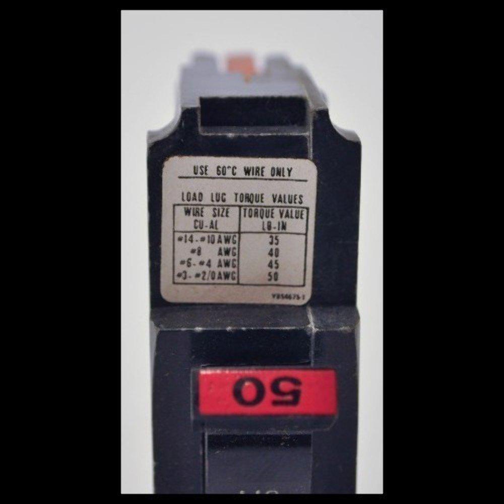 FEDERAL PACIFIC NA150 CIRCUIT BREAKER 1P 50AMPUSED: Amazon.com ...