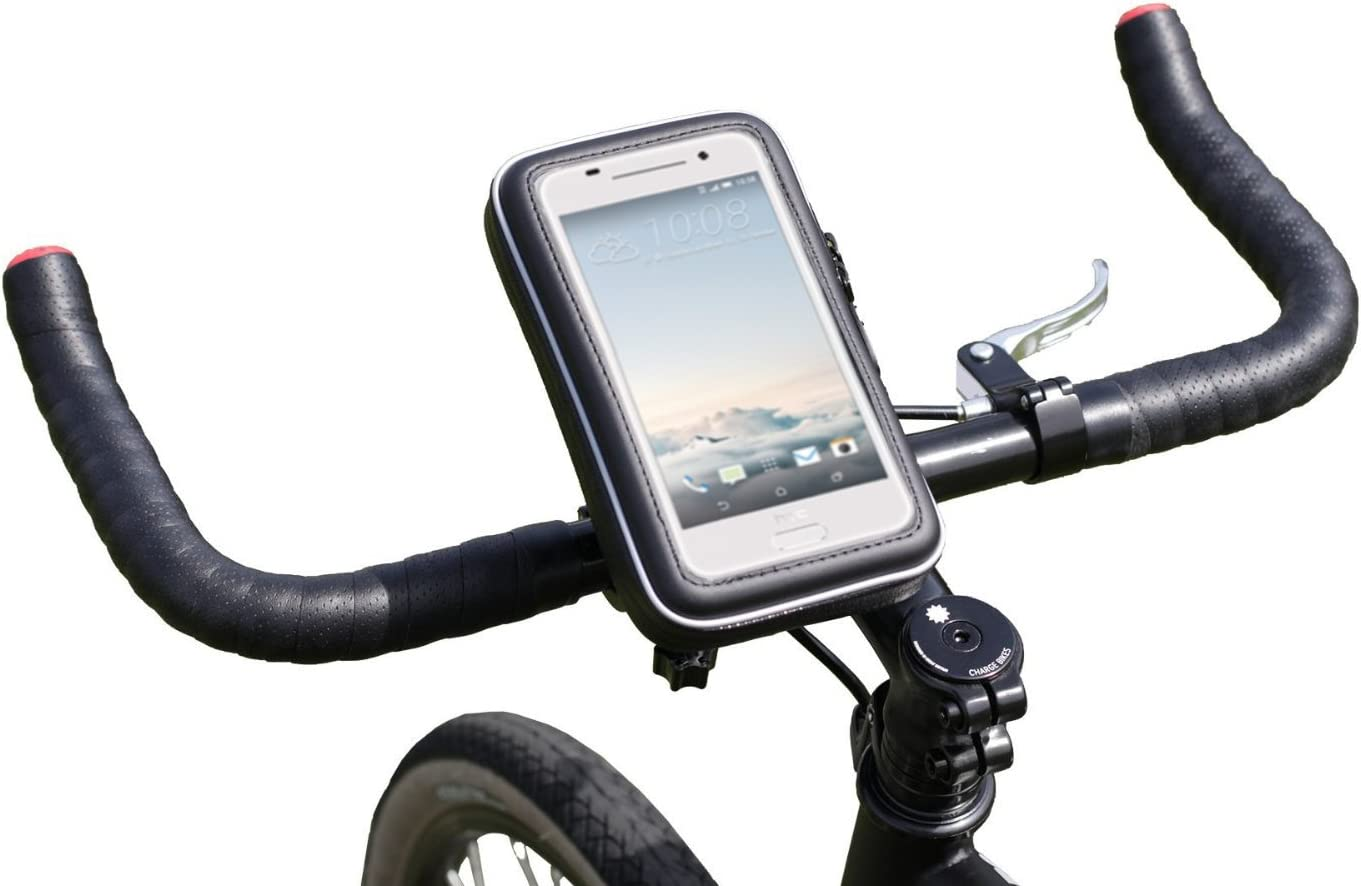 Navitech Cycle/Bike/Bicycle & Motorbike Waterproof Holder Mount & Case Compatible with The Acer Liquid Z330