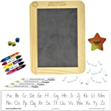 Handwriting without Tears Manuscript Beginner Kit with Slate, Chalk, Pencils, Flip Crayons, Sponge Cubes and Eraser HWOT Supp
