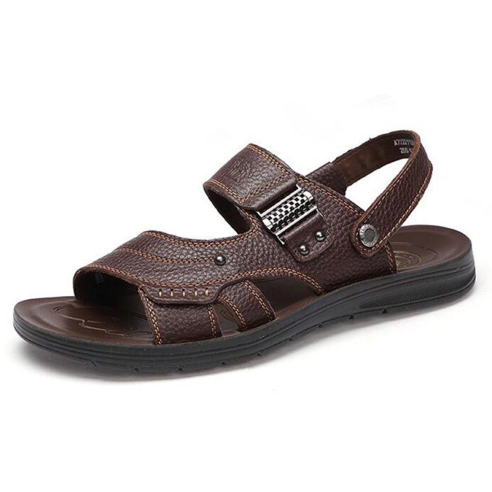 Hombre Casual Sandalias Zapatos De Playa Transpirable Zapatos De Hombre Zapatillas 44 EU|Brown