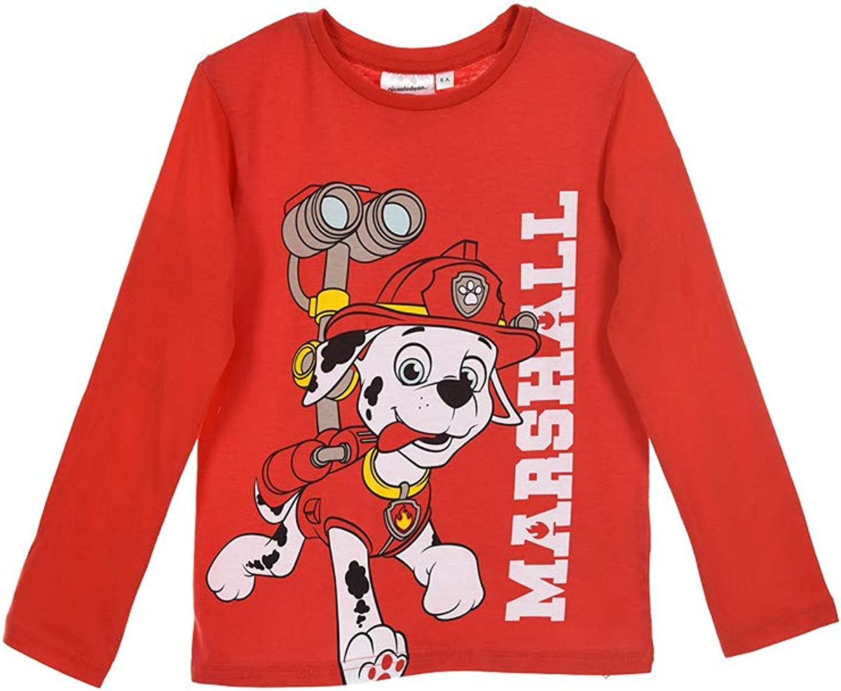Paw Patrol Boys Long Sleeves T Shirt