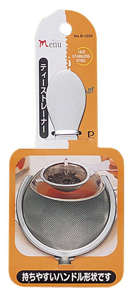 Stainless steel tea strainer B-1559 (japan import) Pearl