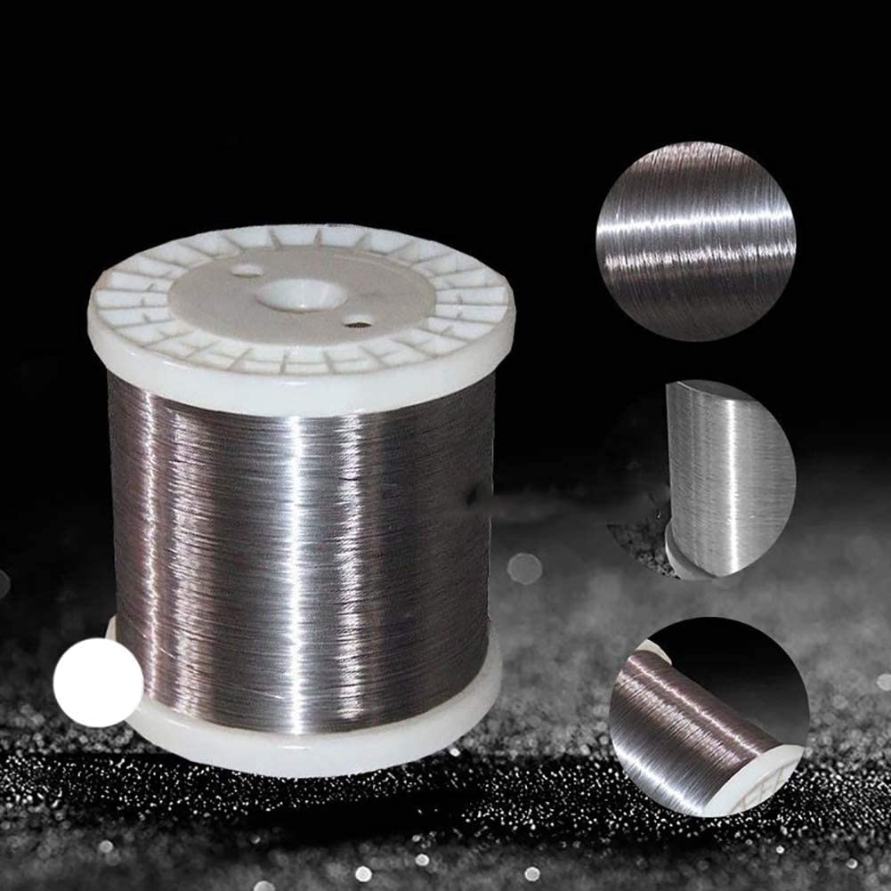 100 m //328FT SOFIALXC Fil dacier Inoxydable-0.5 mm Soft Silk
