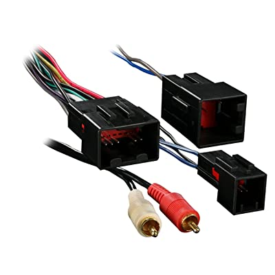 Metra 70-5701 Wiring Harness for Select Ford Vehicles with Premium Sound and RCA: Car Electronics