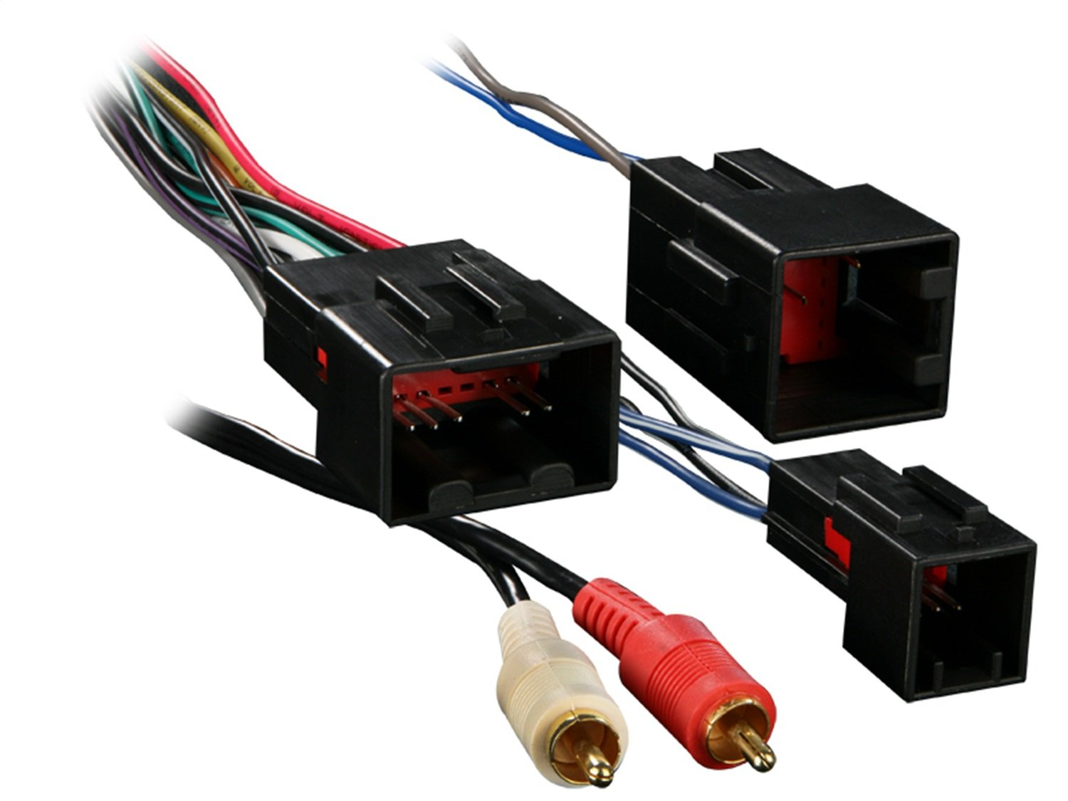 Metra 70 5701 Wiring Harness For Select Ford Vehicles Industrial 460 Diagram With Premium Sound And Rca Car Electronics