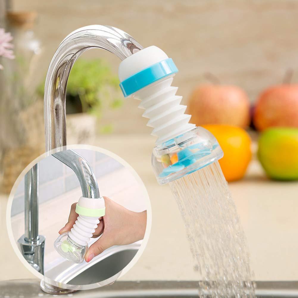 BESTEU Home Kitchen Faucet Water-Saving Fliter Splash Proof Device Filter Valve