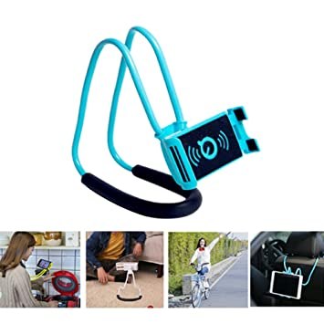 Amazon Com Lazy Bracket Cell Phone Stand Hang On Neck Mobile