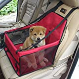 Pet Car Seat cover Carrier Airline Approved For Dogs Cat Puppy Small Pets Travel Cage L Size Weight up to 15lbs by YOTRON