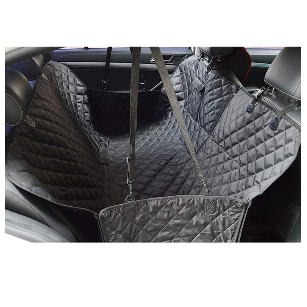 GAIBO Pet Seat Covers for Cars, Waterproof Dog Back Seat Cover Predector Scratchproof Nonslip Easy to Clean, for Cars Trucks SUV,Black
