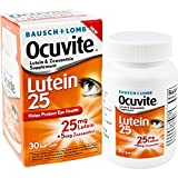 Bausch + Lomb Ocuvite Lutein and Zeaxanthin Supplement, Vitamins for Eye Support, 30 Count Bottle