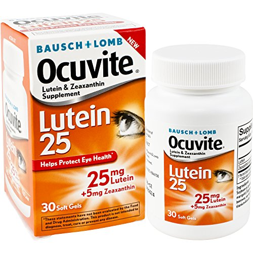 Ocuvite Zeaxanthin Supplement Vitamins Supports