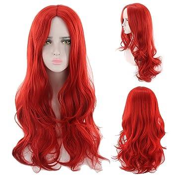 Rizos de la peluca Fibra quimica media larga Fibra quimica de alta temperatura Fibras capilares peluca
