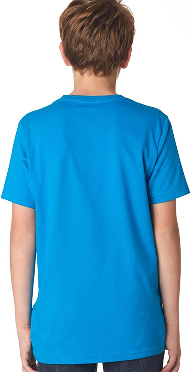 Next Level Boys Short-sleeve Fine Jersey Crew 3310 Red