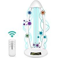 Lámpara Desinfectante Ultravioleta, Esterilizador De Luz Ultravioleta, Desinfección Germicida Ambiental, BOSWELL Bombillas Desinfectantes UV-C para El Hogar