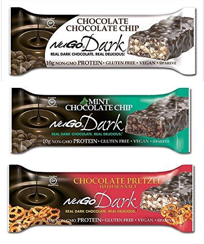 NuGo Dark Variety Pack 12 Count