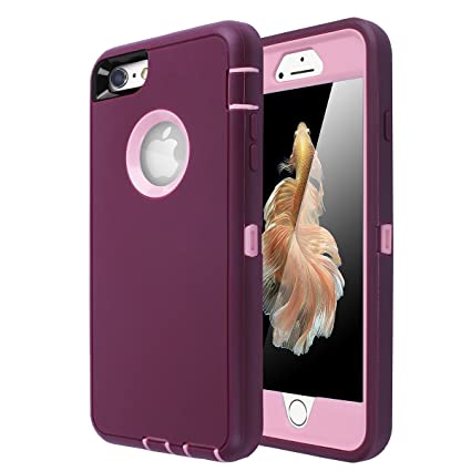 Amazon.com: Carcasa para iPhone 6, iPhone 6S [resistente ...