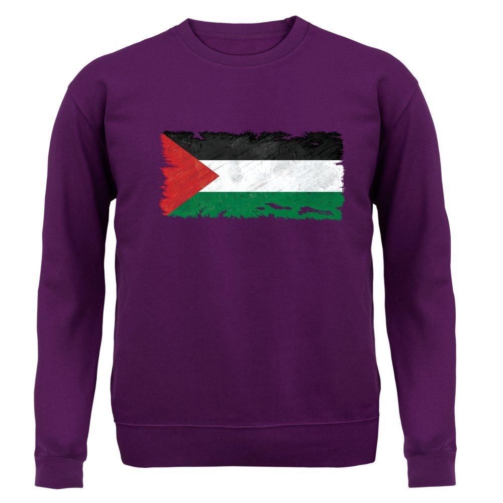 Dressdown Palestine Drapeau Style Grunge 8 Couleurs Sweat-Shirt Unisexe