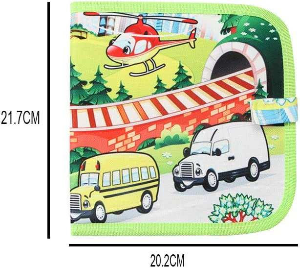 Amazon Com Children Portable Drawing Board Transportation Theme